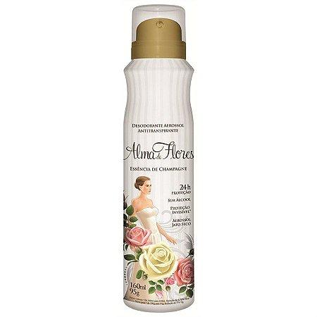 Desodorante Alma de Flores Aerosol Flores Brancas 160ml