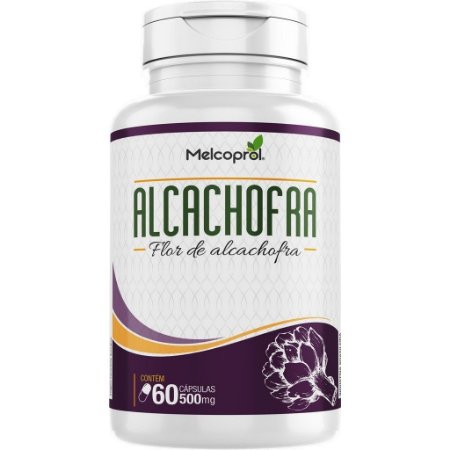 ALCACHOFRA 500MG 60CAPS MELCOPROL