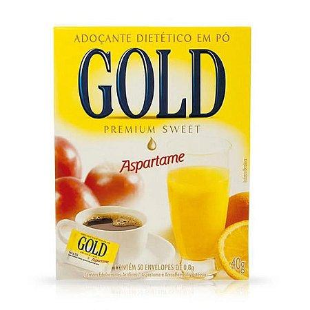 Adoçante Gold Aspartame c/50 env.