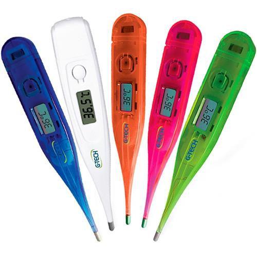 Termômetro Digital Techline Colorido