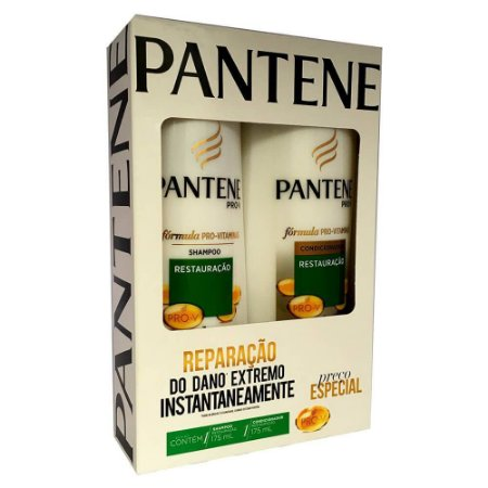 Kit Sh + Cond Pantene 175mL Restauração