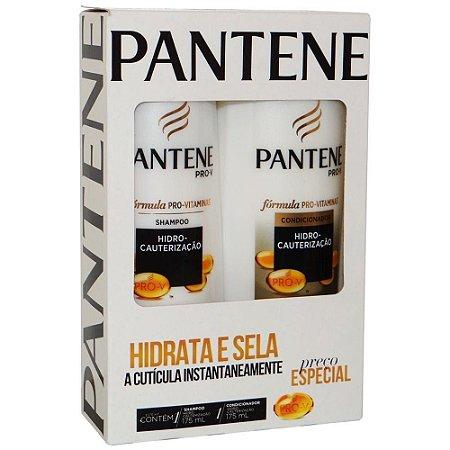 Kit Sh + Cond Pantene 175mL Hidro Cauterização