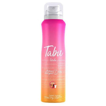 Desodorante Aerossol Tabu 150mL Linda