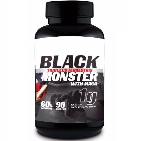 Tribulus Terrestris C/ Maca 120 Tabletes -Black Monster