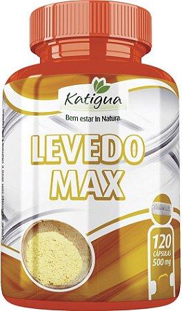 Levedo de Cerveja - Levedo Max 120 caps. Katigua