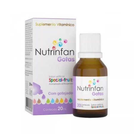 Nutrinfan Suplemento Vitamínico 20ml - Cifarma