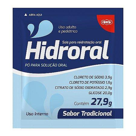 HIDRORAL REIDRATANTE ORAL SABOR NATURAL UNITARIO 27,9g