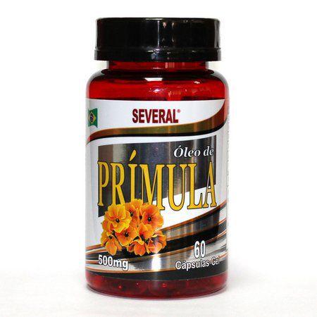 Óleo de Prímula 500mg c/ 60 cápsulas Several