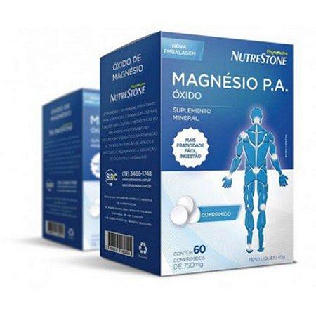 Oxido de Magnesio P.A 750mg c/60cpr Phytonutre