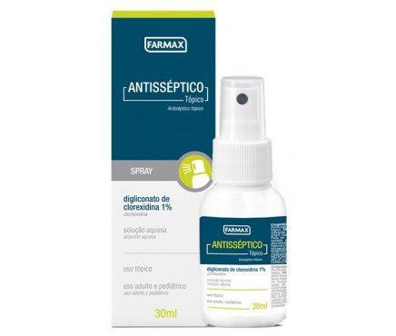 Antisséptico Clorexidina Spray Farmax 30ml