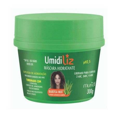 mascara  Umidiliz  babosa mix 300g - Muriel