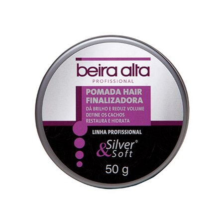Beira Alta Pomada Hair Finalizadora Silver Soft 50g