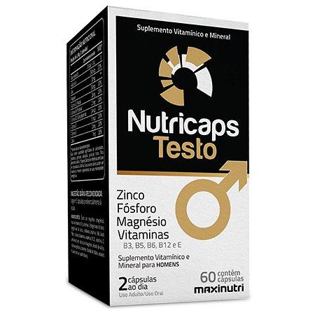 Nutricaps Testo 60caps. Maxinutri