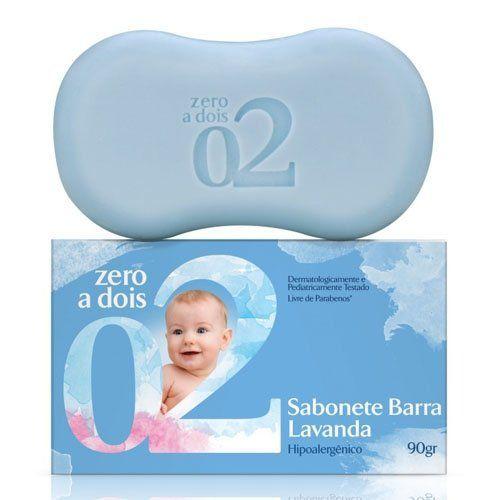 Sabonete Infantil Zero a Dois  Suave 90g