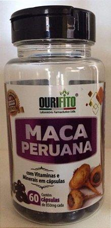 MACA PERUANA SUPLEMENTO 60 CPS 850MG -OURIFITO