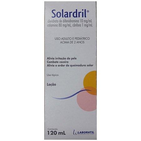 Solardril Loção 120ml - Laboratil
