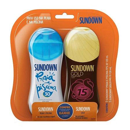 Kit Sundown FPS 30 120ML+ Gratis Sundown Gold FPS 15 120ml