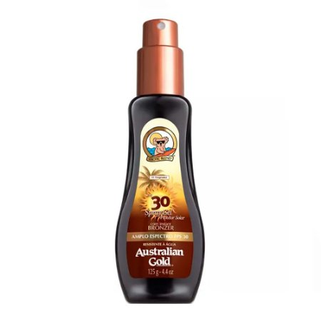 Australian Gold Loção Bronzeadora FPS 30 Spray Gel 125g