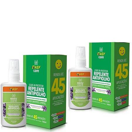 Easy Care Leave-in protetor (repelente antipiolho) kit 2un