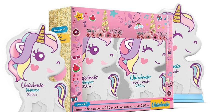Kit Shampoo 250ml + Condicionador 230ml Unicornio Teens
