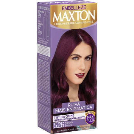 Tintura Maxton 5.26 Marsala Escuro (Especial)