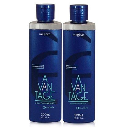 Kit Megève Advantage Shampoo+Condcionador 300ml Cada