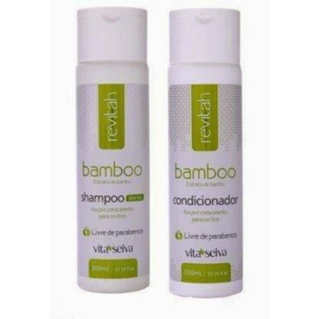 Vita Seiva Revitah Bamboo Shampoo+Condcionador 300ml Cada