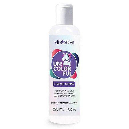 Condicionador Creme Gloss Unicolorful 220ml