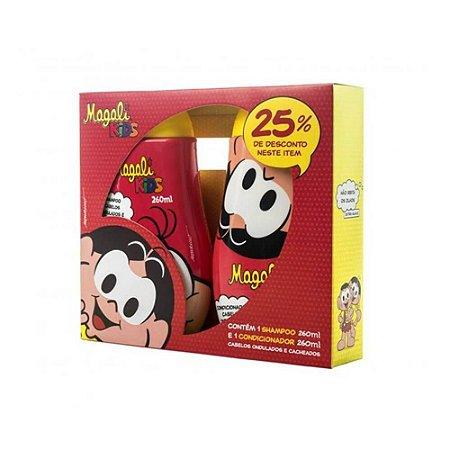 Kit Magali Shampoo 260ml +Condicionador 260ml Ondulados