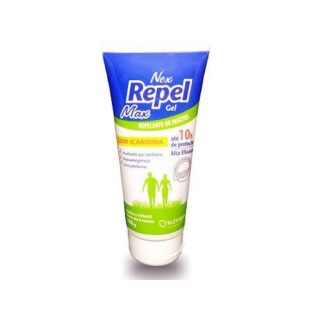 Nex Repel Repelente Gel Max com Icaridina 100g - Kley Hertz