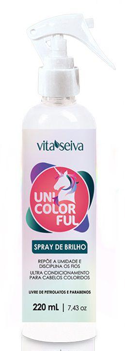 Spray de Brilho Unicolorful 220ml
