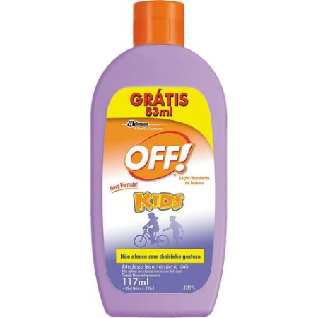 OFF KIDS LOCAO Leve 200ml Pague 117ml