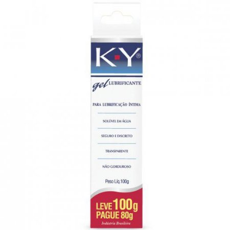 Lubrificante KY GEL INTIMO Leve 100g Pague 80g