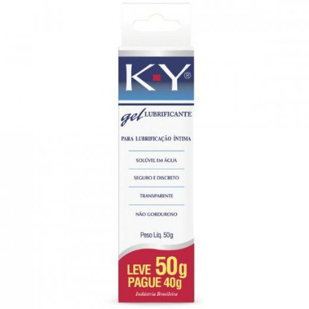Lubrificante KY GEL INTIMO Leve 50g Pague 40g
