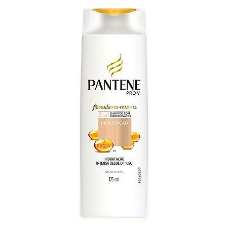 Shampoo Pantene 2 em 1 Hidratação 175ml