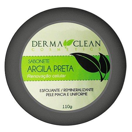 Sabonete de Argila Preta 110g Derma Clean