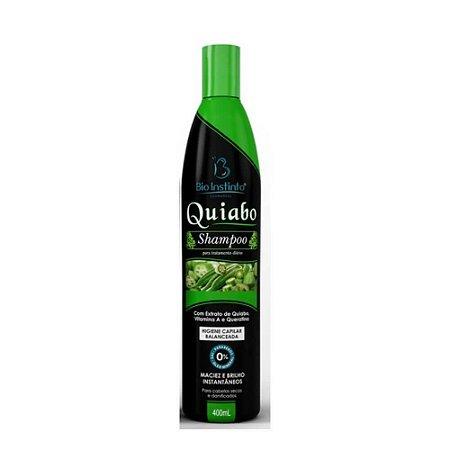 Shampoo Bio Instinto Quiabo 400ml