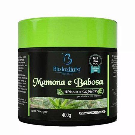 Mascara Bio Instinto Mamona E Babosa 400g