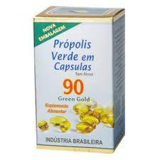 Extrato de Propolis Verde 90 cápsulas -  Apis Brasil