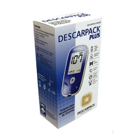 Aparelho Descarpack Plus com 01tira de verificação