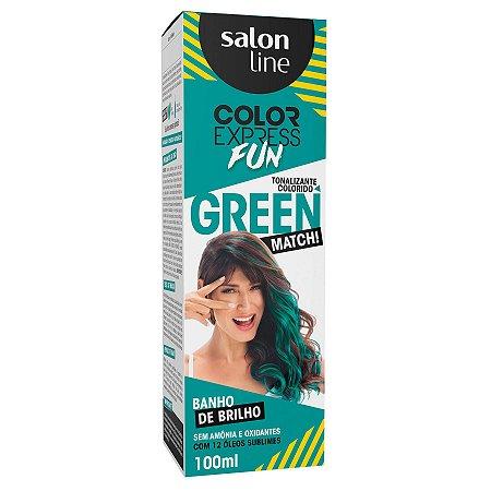 Tonalizante Salon Line Color Express Green Match 100ml