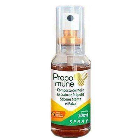 Spray Propomune propolis menta e malva 30ml Maxinutri