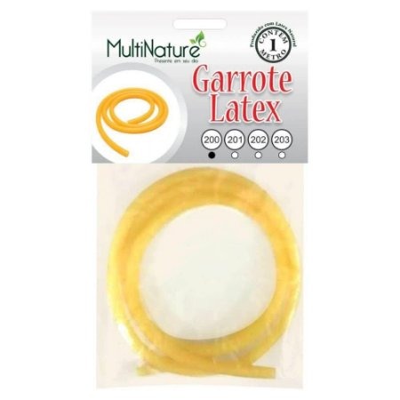 Tubo Latex Garrote Latex 200 com 1metro - Multinature