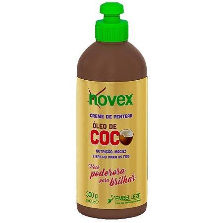 Novex Creme de Pentear Nutrire Oleo de Coco 300g