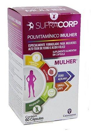 Supracorp Mulher 60caps - Catarinense