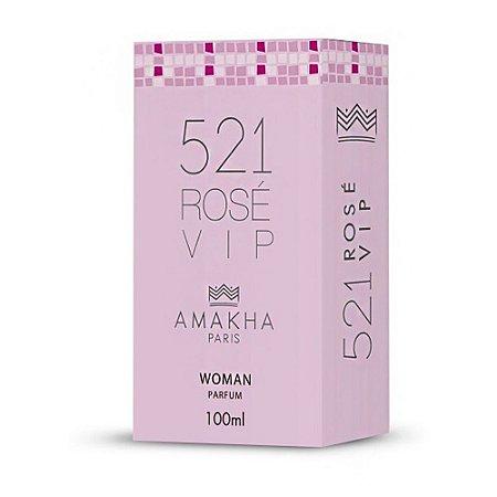 Perfume Amakha Paris 100ml Woman 521 Rose Vip