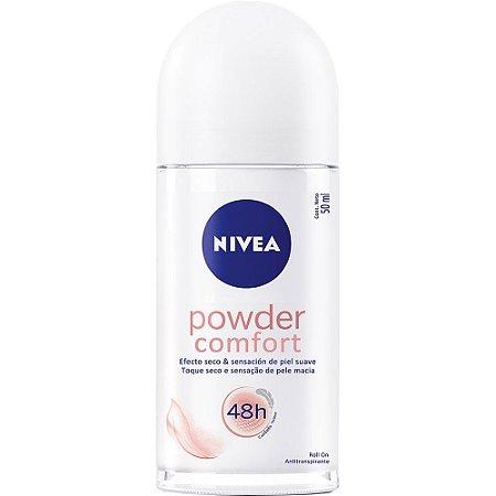 Desodorante Nivea Roll-On Women 50ml POWDER