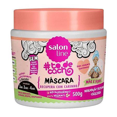 Mascara Salon Line To de Cacho Mae e Filha 500ml