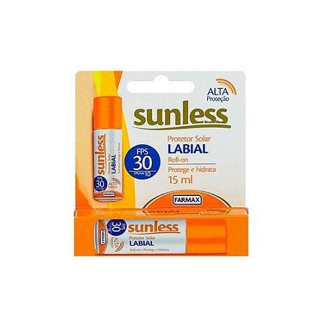 Protetor Solar Labial Sunless FPS30 15ml
