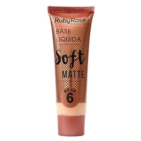 Base Ruby Rose Líquida Soft Matte Bege 6 29ml